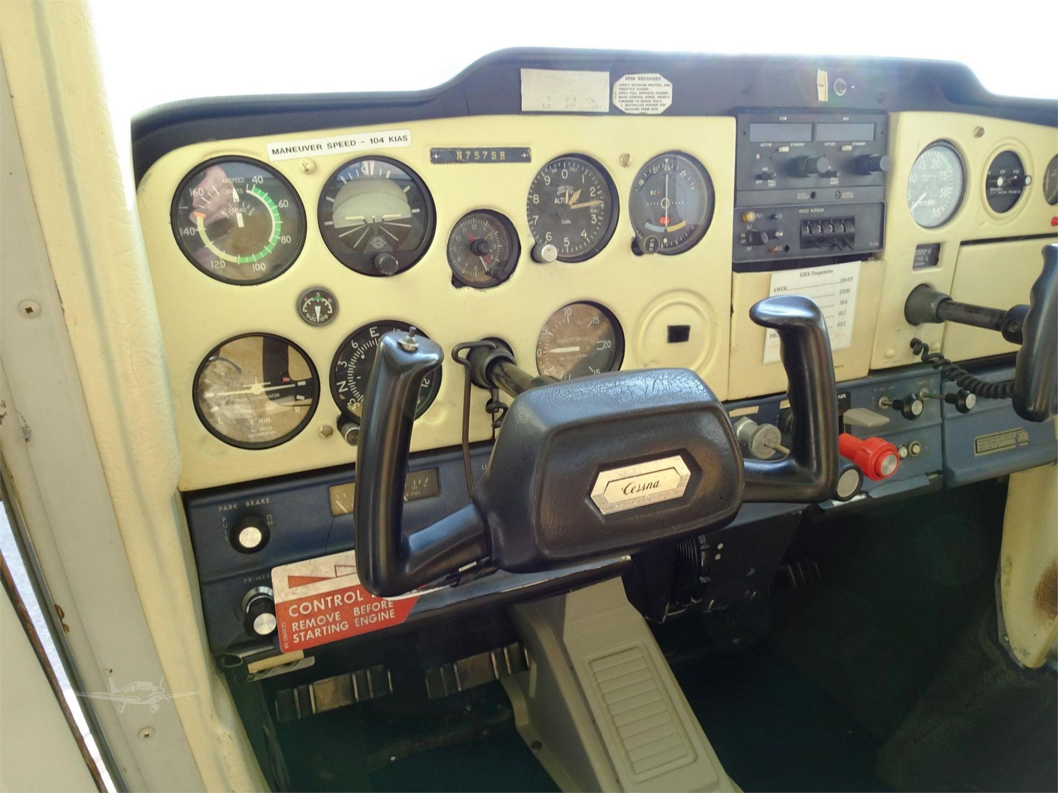N757sh Cessna 152